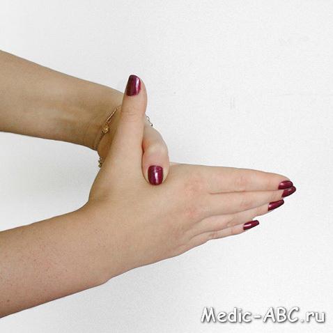 Болит большой палец на руке, что делать?