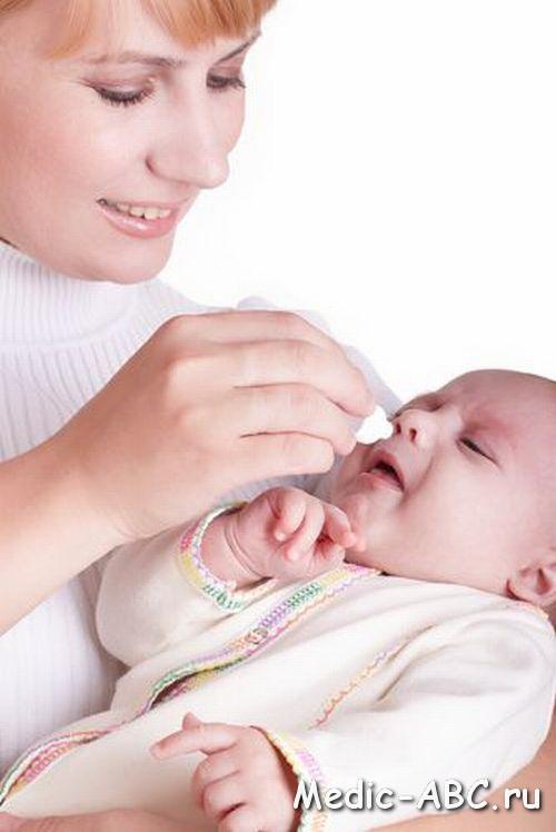 Чем лечить горло ребёнку до года