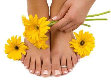 Солевой раствор против грибка на ногах