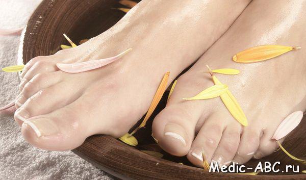 Як лікувати грибок між пальцями ніг