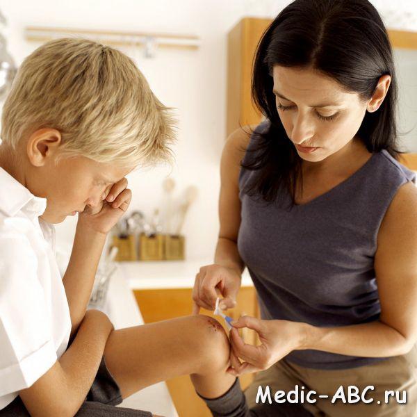 Как лечить лишай у ребёнка