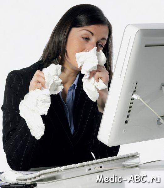 сухой кашель при аллергии