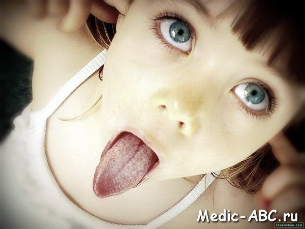 Как лечить желтый налет на языке