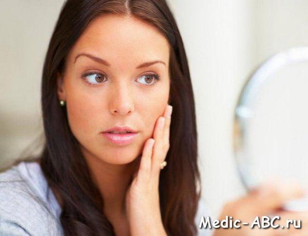 Особенности лечения аллергия на лице
