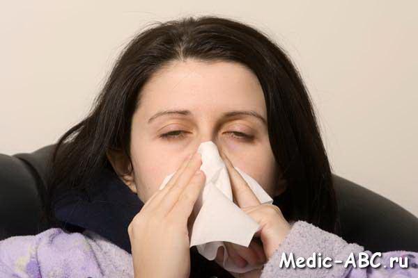 закладывает ли при аллергии