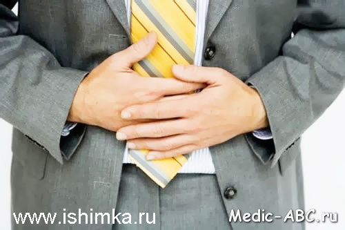 Симптомы язвы кишечника